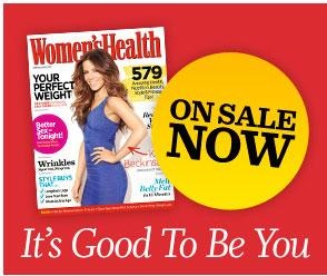 Women's Health UK magazine launched this week