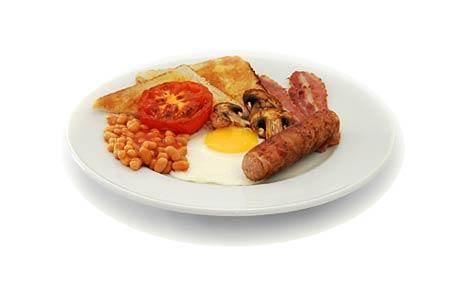 Healthy Full English Breakfast