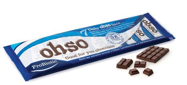 ohso probiotic chocolate