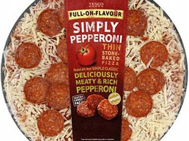 This pepperoni pizza contains almost a full RDA of salt for adults