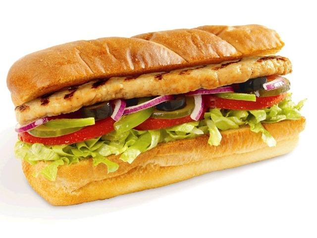 How many calories are in your favourite sandwich?