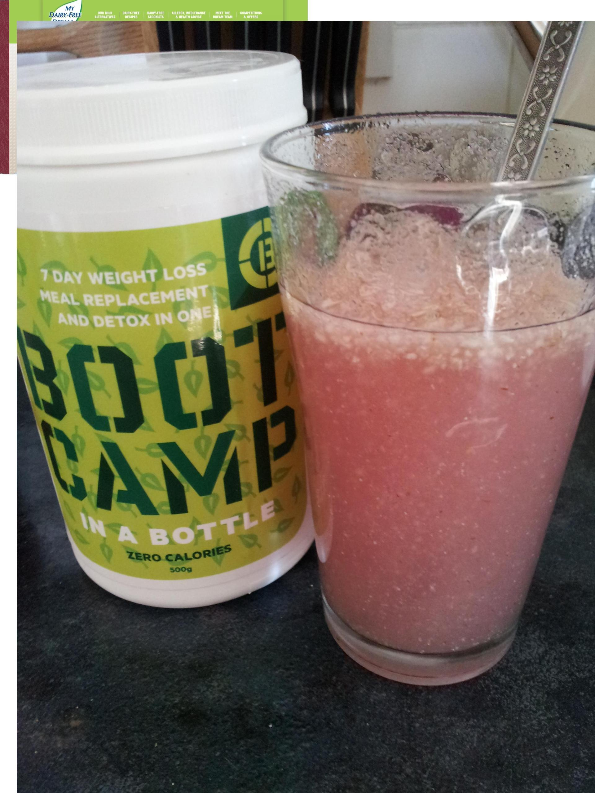 Boot Camp In A Bottle with squash