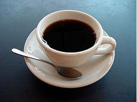 Drinking black coffee is recommended to aid weight loss