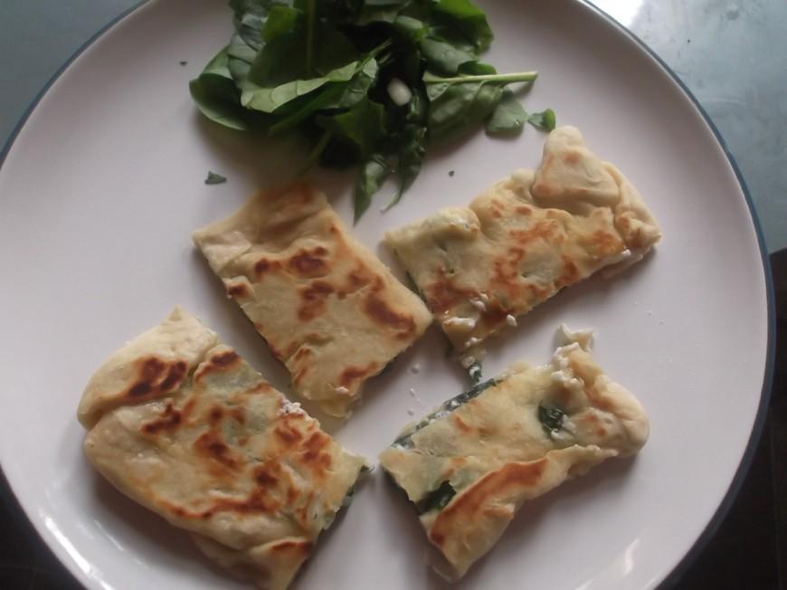 Munch Spinach & Feta Gozleme