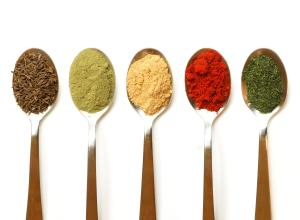 Spices add flavour with no sodium