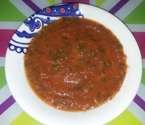 tomato and watercress soup